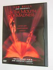 In the Mouth of Madness (DVD, 2000)- Sam Neill, Jürgen Prochnow, Julie Carmen
