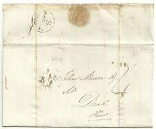 * 1840 Jan 4ª Londres a John Mercer al trato Kent-Uniforme 4d Post período