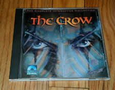 The Crow: Complete Interactive Collection Pc Mac Cd movie comic book film Cd-Rom