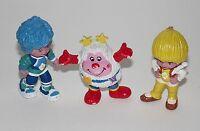 3x Schleich Regina Regenbogen Weißwirbel Rainbow Brite Vintage Puppe Figur PVC f