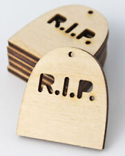 Tombstone Halloween Unfinished Wood Cutouts Earrings Jewelry Blanks ALL SIZES