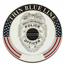 The Thin Blue Line Challenge Coin