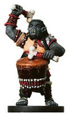 D&D Miniatures Orco wardrummer 56/60 R Tambores De Guerra