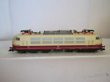 Fleischmann HO Elektro Lok TEE / IC BtrNr 103 155-8 DB rot/beige  (RG/AH/80L40)