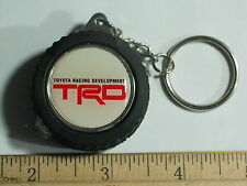 TRD Racing Keychain TRD  Wheel Tape Measure Keychain Key Fob (#1137)