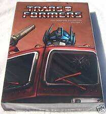 Rare Transformers Premiere Collection 1 Hardcover HC