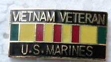 Vietnam Veteran - U.S. Marines Hat Pin