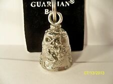 Bikers! Highway to Hell, motorcycle gremlin pewter ride bell with felt pouch New