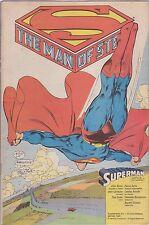 SUPERMAN SUPPLEMENTO AL NUMERO 1 DI CORTO MALTESE GENNAIO 1989