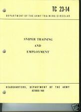 Sniper Training and Employment (1969 edition)