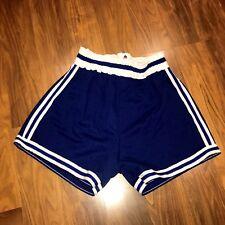 New Vtg 70s 80s Sb Athletic Blue Retro Basketball Jersey Shorts Nos Mens Medium