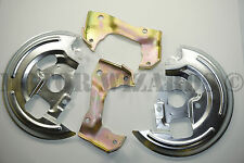 NEW Disc Brake Caliper Mounting Brackets+Dust Shields/Plates 64-72 GM A,F,X