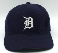 Detroit Tigers Sports Specialties Plain Logo MLB Hat Cap 100% Wool Size 6 7/8