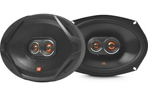 "PAIR JBL GX9638AM RB 300 Watt 6"" x 9"" 3-Way Coaxial Car Audio Speakers 6""x9"""