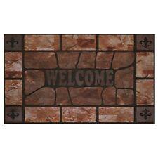 Achim Raised Rubber Mat Clay Stone - 18x30- RRM1830CS6 Door Mat NEW