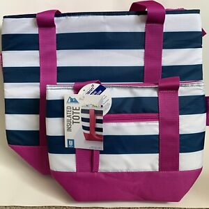 Lot Of 2 Artic Zone Insulated Tote Antimicrobial Protection - 30/8 Can Totes