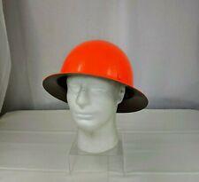 Orange Hard Hat Msa Skullgard Mine Safety Appliances Protective Hat Only Cap