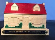 """Antique Advertising DOVER Savings and Loan Co The Portable Safe No Key 3X4"""""""