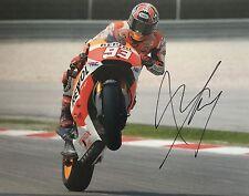 Marc Marquez signed Moto GP 10x8 photo Image S UACC Registered Dealer