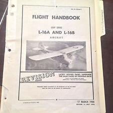 1948 L-16A and L-16B Flight Handbook , revised 1953 aka Aeronca Champion