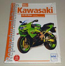 Reparaturanleitung Kawasaki ZX-9R Ninja - ab Modelljahr 1998!
