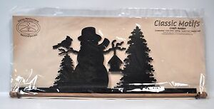 Classico Motivi 55.9cm Ghicciato Pupazzo di Neve Craft Supporto