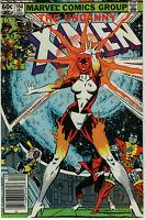 Uncanny Xmen #164 1st Carol Danvers as Binary Captain Marvel 2 Newsstand Variant