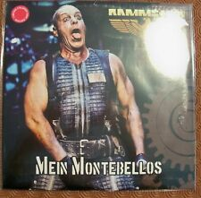 "RAMMSTEIN  ""MEIN MONTEBELLOS""2 COLOURED LP COPY 70/100 LIVE QUEBEC FESTIVAL 2017"