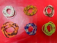 Set of 6 Ileke - 6 Collares Santeria finos - Santeria Ifa Yoruba - Eleke santero