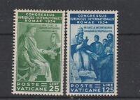 FRANCOBOLLI - 1935 VATICANO GIURIDICO MLH Z/8009
