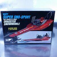 Rupp super sno sport Dragster Snowmobile plastic 1/20 Model kit MPC MPC-170