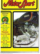 MS801112-YAMAHA SPECIAL CROSS,RACERS,NSU,ROTAX,EYSINK,