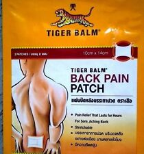 Tiger Balm Back Pain Patch Warm 9 Pack 18 Pcs 10 x 14 Cm Relief That Lasts For