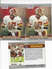 1990 Pro Set Doug Williams Mvp Super Bowl Xxii ,#22 Mvp Collectible 3Ea.