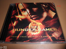 HUNGER GAMES soundtrack CD Arcade Fire TAYLOR SWIFT Civil Wars MAROON 5 kid cudi