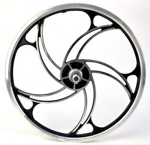 20 Inches Alloy Rims Front Wheel 5 Spokes Hurricane Deore Disc