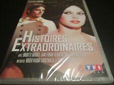 "DVD NEUF ""HISTOIRES EXTRAORDINAIRES"" Brigitte BARDOT, Jane FONDA, Alain DELON"