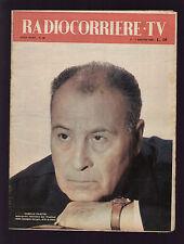 RADIOCORRIERE 22/1958 GLI ITALIANI IN BRASILE IL MUSICHIERE SALVATORE LOMBARDO