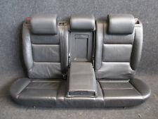 LEDER Rücksitzbank Audi A3 8P 3-türig Rückbank Ausstattung schwarz