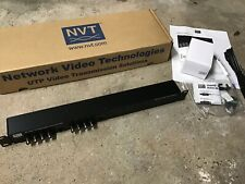 NVT NV-842 8 Channel UTP StubEQ Receiver Hub *NEW OLD STOCK*