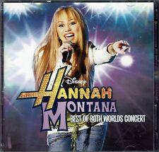 Hannah Montana Miley Cyrus - Best Of Both Worlds CD+DVD Set