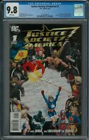 JUSTICE SOCIETY OF AMERICA #1 CGC 9.8 (2/07) DC Comics white pages