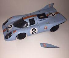 EAGLE RACE 1/18 - UH5 PORSCHE 917K #2 1971 - MONZA 1000KMS WINNER GULF