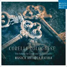 MUSICA ANTIQUA LATINA-CORELLI BOLOGNESE-RIO SONATAS BY CORELLI/+ CD NEW+ CORELLI