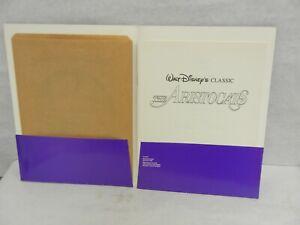 Disney's The Aristocrats Original Studio Press Kit Reissue with 3 Photos  MINT