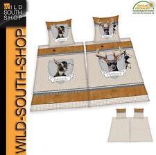PLATZHIRSCH + EDELZICKE Partner Bettwäsche 2x 80x80 + 2x 135x200 100% Baumwolle