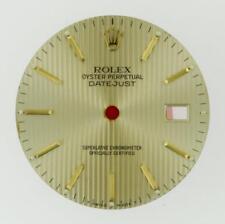 Original Men Rolex Datejust 16013 16233 16203 Champagne Tapestry Dial 2/T #C12