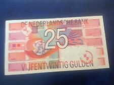 25 Netherlands Gulden banknotes dated 5/4/99