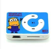 Minion Mini Mp3 player New..