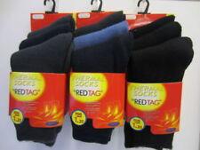 Calcetines de niño de 2 a 16 años rojo